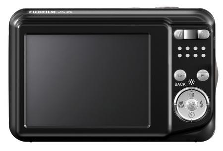 FujiFilm FinePix AX250, AX200 digital cameras back