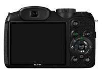 FujiFilm FinePix S1800 18x Zoom Camera back