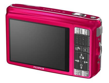 FujiFilm FinePix Z70 digital camera back