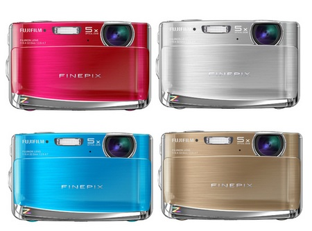 FujiFilm FinePix Z70 digital camera colors