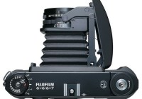 FujiFilm GF670 Professional medium format folding camera top