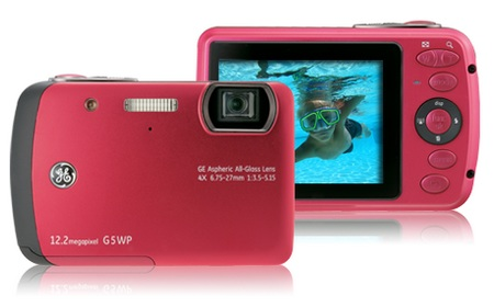 General Imaging G5WP Waterproof Camera Raspberry Red