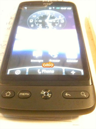 HTC Bravo Android Phone Spotted optical sensor