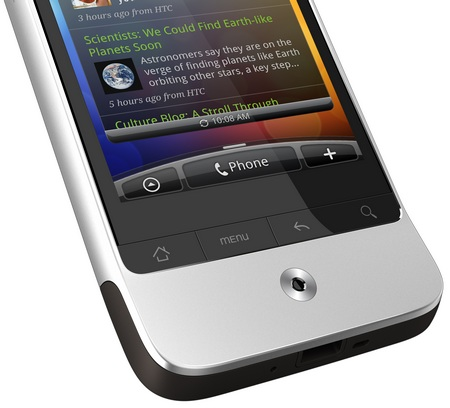 HTC Legend Android 2.1 Phone with HTC Sense buttons and optical joystick