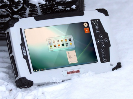 Handheld Group Algiz 7 Rugged Tablet PC snow