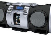 JVC Kaboom RV-NB50 Boombox with iPod dock