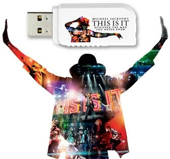 Kingston 'Michael Jackson's THIS IS IT' Limited-Edition USB Flash DriveKingston 'Michael Jackson's THIS IS IT' Limited-Edition USB Flash Drive