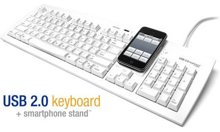 Matias USB 2.0 Keyboard+Smartphone Stand