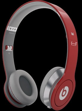 Monster Beats Solo HD (PRODUCT)RED Special Edition Headphones