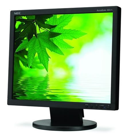 NEC AccuSync AS171 Eco-Friendly LCD Display