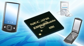 NEC EMMA Mobile/EV SoC for Full HD Portable A/V Devices