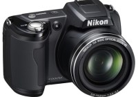 Nikon CoolPix L110 15x zoom camera black