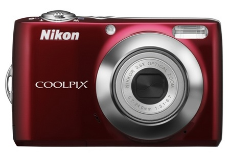 Nikon CoolPix L22 Digital Camera red
