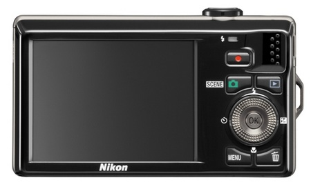 Nikon CoolPix S6000 Digital Camera back
