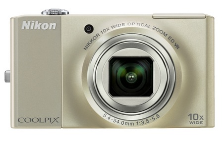 Nikon CoolPix S8000 10x Zoom Camera Silver