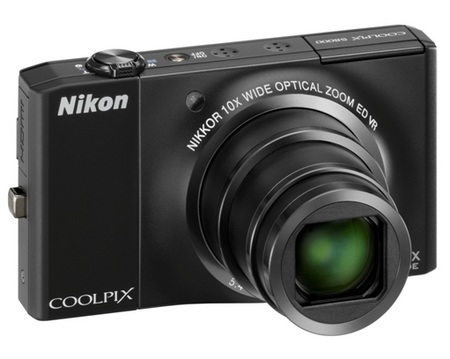 Nikon CoolPix S8000 10x Zoom Camera black