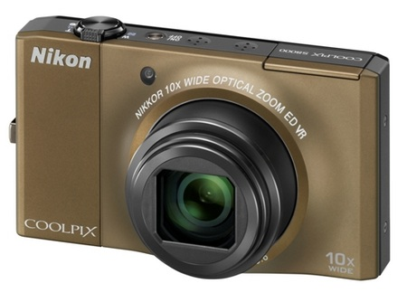 Nikon CoolPix S8000 10x Zoom Camera bronze