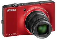 Nikon CoolPix S8000 10x Zoom Camera red