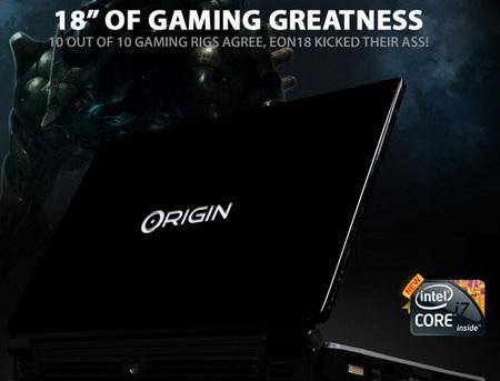 ORIGIN EON18 Notebook gets Core i7