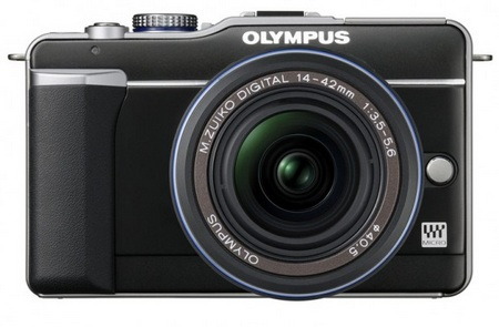 Olympus PEN E-PL1 Micro Four Thirds Camera black