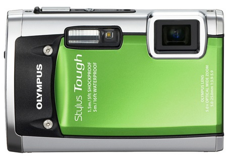 Olympus STYLUS TOUGH-6020 Ultra Tough Camera green
