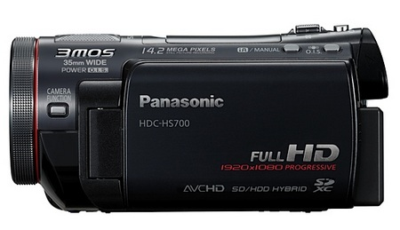 Panasonic HDC-HS700 Full HD 3MOS Camcorder 1