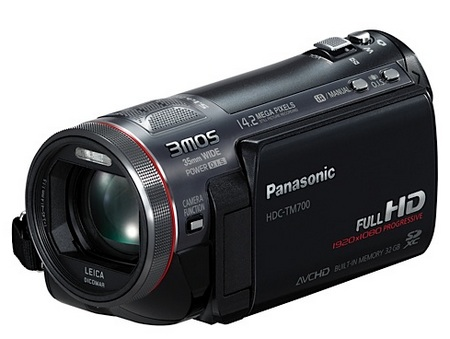 Panasonic HDC-TM700 Full HD 3MOS Camcorder 1