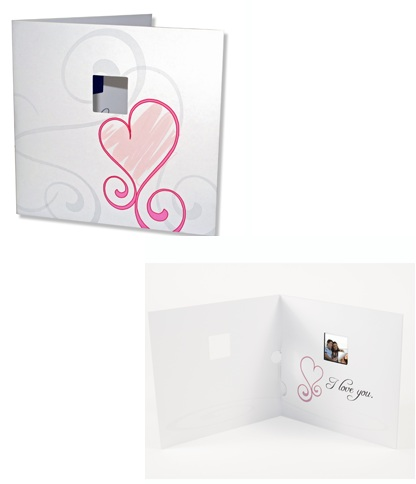 Pandigital Digital Photo Greeting Card