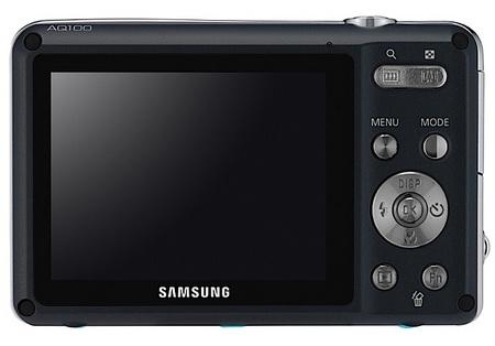 Samsung AQ100 waterproof camera back