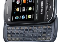 Samsung Ch@t B3410W QWERTY Messaging Phone