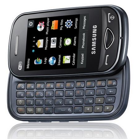 Samsung Ch@t B3410W QWERTY Messaging Phone