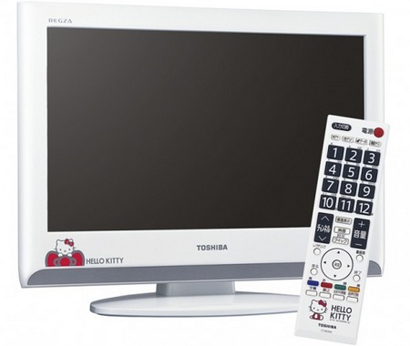 Sanrio 19A800KT Hello Kitty LCD TV by Toshiba