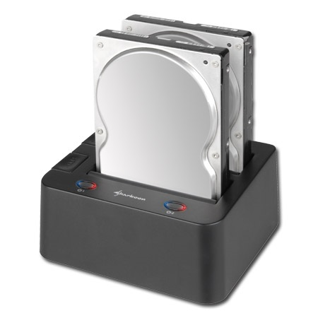 Sharkoon SATA QuickPort Duo USB3.0 Hard Drive Dock