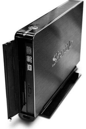 Shuttle Barebone XS35 is 3.3cm Thin optica drive