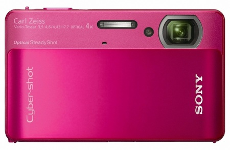 Sony Cyber-Shot DSC-TX5 Ultra Tough Camera red
