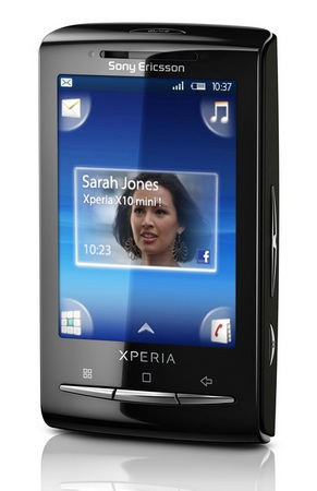 Sony Ericsson Xperia X10 mini android phone
