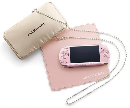 Sony PSP-3000 JillStuart Sweet Limited Package