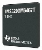 TI TMS320DM6467T DaVinci Video Processor supports HD.264 1080p at 60fps