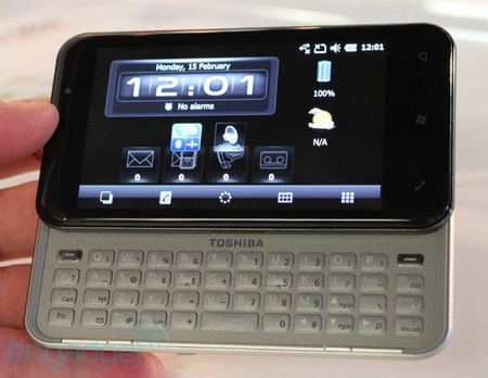 Toshiba K01 SnapDragon Phone with QWERTY Keyboard