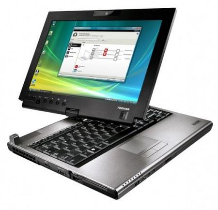 Toshiba Portege M780 Multitouch Tablet PC