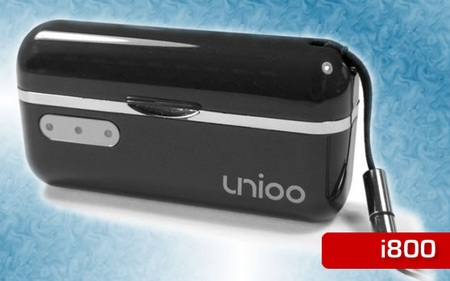 Unioo i800 portable battery for iphone ipod