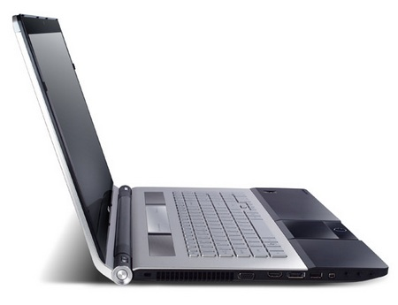Acer Aspire Ethos 8943G and 5943G Notebooks side