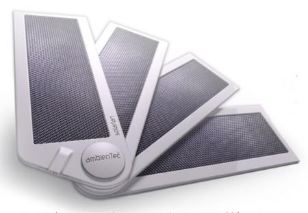 AmbienTec SolarFan portable solar charger