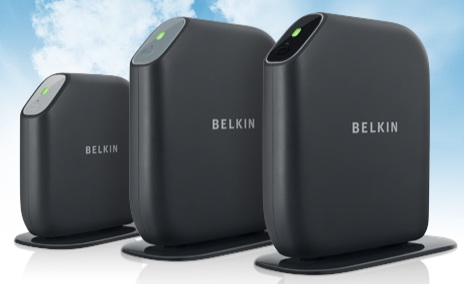 Belkin Surf, Share and Play and Play Max Wireless Routers