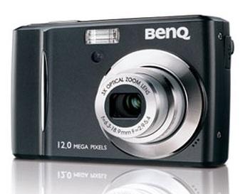 BenQ C1250 and C1255 Digital Cameras black