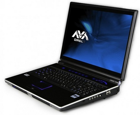 Clevo X8100 Ultimate Gaming Notebook