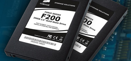 Corsair Force Series SSD with TRIM Support