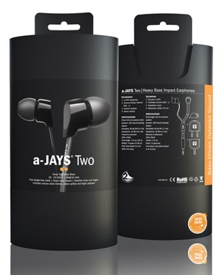 Jays a-JAYS Two In-ear Headphones