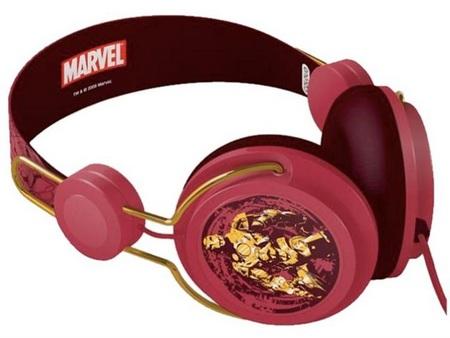 Marvel Coloud Headphones Iron Man