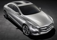 Mercedes Benz F800 Style uses Fuel Cell